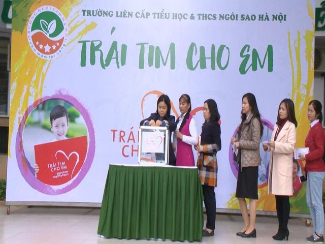 2.500 học sinh Trường liên cấp Ngôi Sao Hà Nội chung tay ủng hộ bệnh nhi tim bẩm sinh - Ảnh 2.