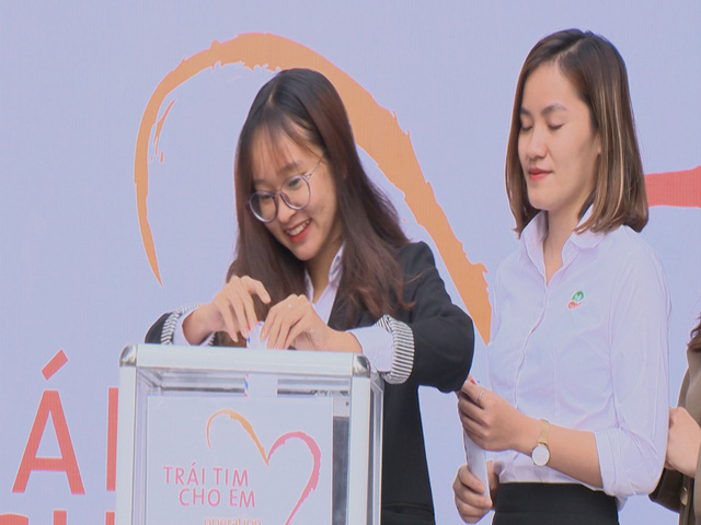 2.500 học sinh Trường liên cấp Ngôi Sao Hà Nội chung tay ủng hộ bệnh nhi tim bẩm sinh - Ảnh 6.