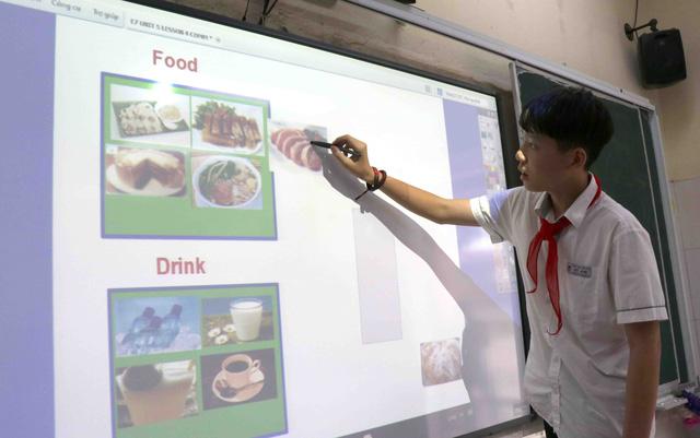 Hiệu quả bước đầu mô hình phòng học thông minh tại Bắc Ninh - Ảnh 2.