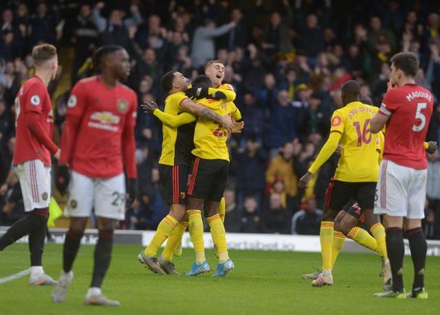 Vòng 18 Ngoại hạng Anh: Man Utd thất bại trước đội bóng bét bảng Watford - Ảnh 3.