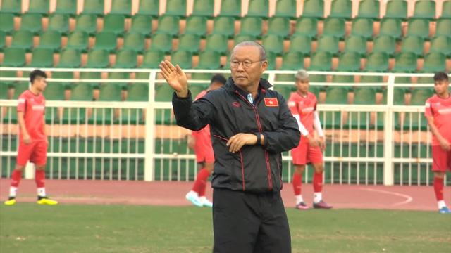 ĐT U23 Việt Nam tập luyện tại TP Hồ Chí Minh - Ảnh 1.