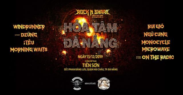Rock'N'Share 2019 lần đầu đặt chân đến Đà Nẵng - ảnh 1