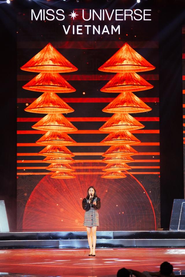 Hoàng Thùy Linh, Ali Hoàng Dương hăng say tập tổng duyệt Bán kết Hoa hậu Hoàn vũ 2019 - Ảnh 5.