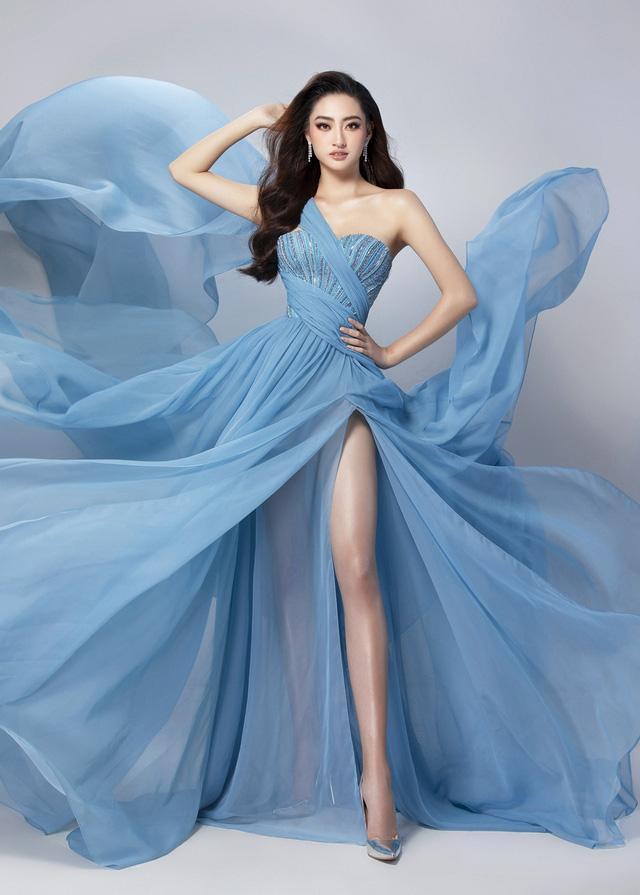 Miss World 2019: Hé lộ chiếc đầm Lương Thuỳ Linh sẽ mặc thi Top Model - Ảnh 2.