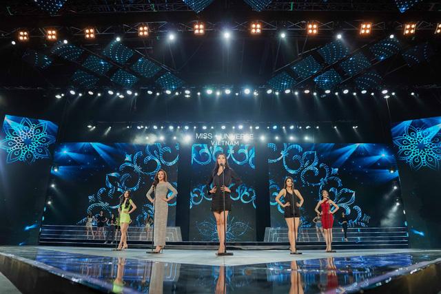 Hoàng Thùy Linh, Ali Hoàng Dương hăng say tập tổng duyệt Bán kết Hoa hậu Hoàn vũ 2019 - Ảnh 1.