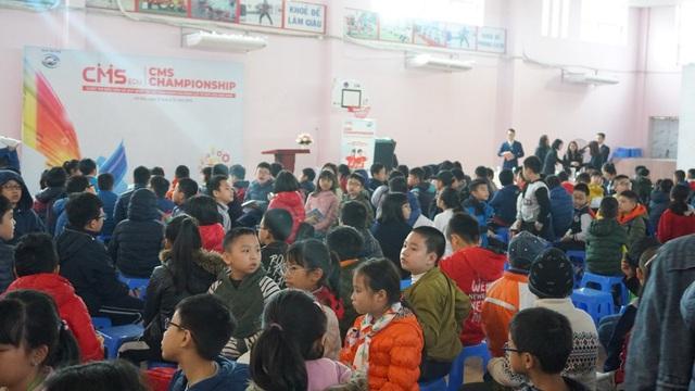 Học sinh 16 trường tiểu học Hà Nội tham gia cuộc thi đánh giá năng lực tư duy chuẩn quốc tế - Ảnh 1.