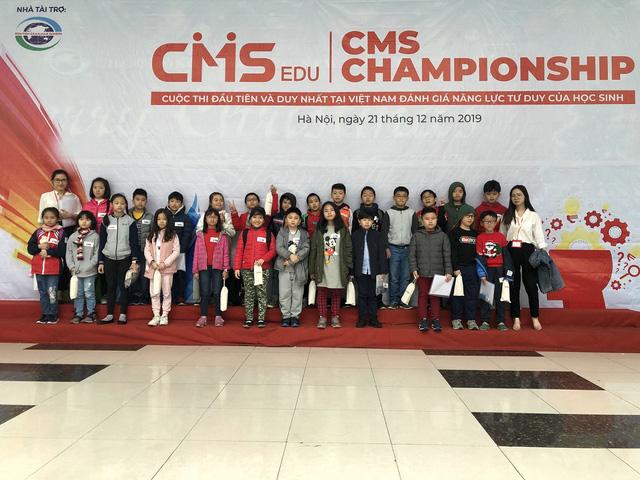 Học sinh 16 trường tiểu học Hà Nội tham gia cuộc thi đánh giá năng lực tư duy chuẩn quốc tế - Ảnh 2.