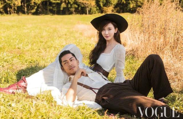 Vợ chồng Lâm Chí Linh ngọt ngào và tình tứ trên Vogue - Ảnh 2.