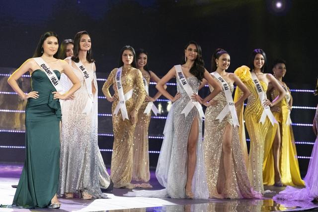 Dàn thí sinh Hoa hậu Hoàn vũ Việt Nam 2019 lộng lẫy trong đêm Bán kết - Ảnh 8.