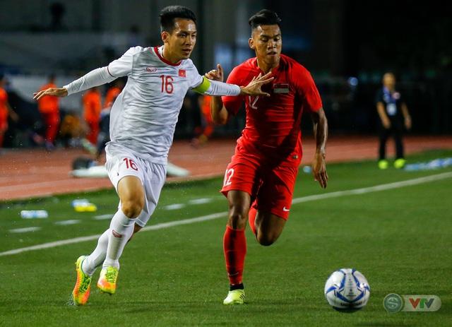 ẢNH: Đức Chinh toả sáng phút cuối, U22 Việt Nam thắng kịch tính U22 Singapore - Ảnh 8.