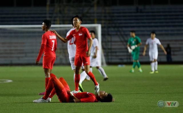 ẢNH: Đức Chinh toả sáng phút cuối, U22 Việt Nam thắng kịch tính U22 Singapore - Ảnh 18.