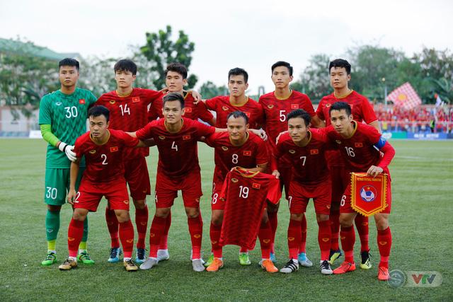 ẢNH: U22 Việt Nam loại U22 Thái Lan, thẳng tiến vào bán kết SEA Games 30 - Ảnh 3.