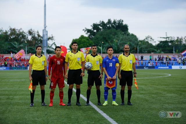 ẢNH: U22 Việt Nam loại U22 Thái Lan, thẳng tiến vào bán kết SEA Games 30 - Ảnh 4.