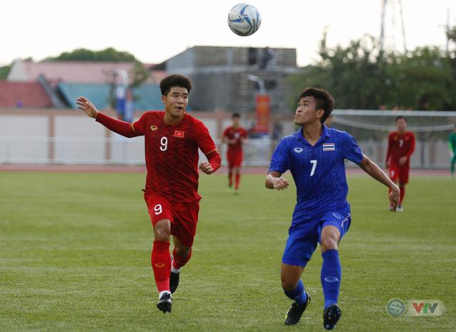 ẢNH: U22 Việt Nam loại U22 Thái Lan, thẳng tiến vào bán kết SEA Games 30 - Ảnh 10.