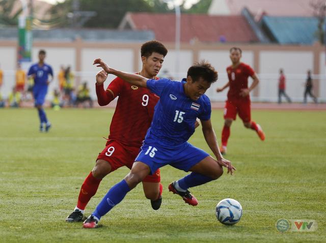 ẢNH: U22 Việt Nam loại U22 Thái Lan, thẳng tiến vào bán kết SEA Games 30 - Ảnh 9.