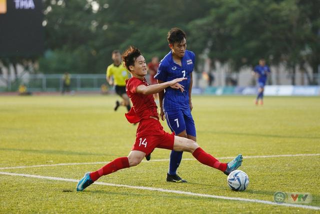 ẢNH: U22 Việt Nam loại U22 Thái Lan, thẳng tiến vào bán kết SEA Games 30 - Ảnh 8.