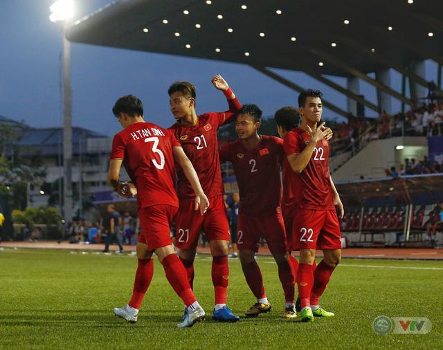 ẢNH: U22 Việt Nam loại U22 Thái Lan, thẳng tiến vào bán kết SEA Games 30 - Ảnh 15.
