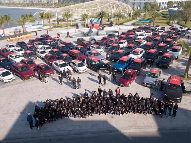 Gần 100 xe VinFast khởi động hành trình chinh phục địa đầu Tổ quốc - Ảnh 2.