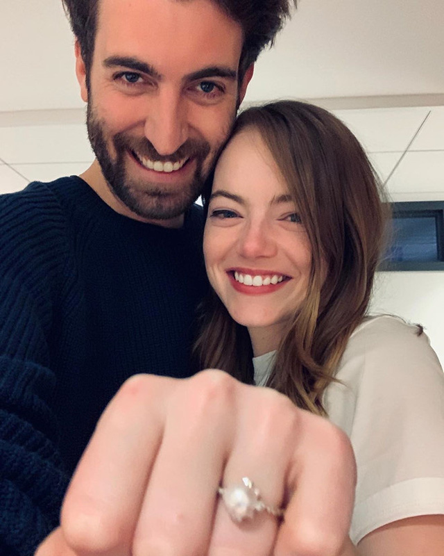 Sau 2 năm hẹn hò, Emma Stone đã đính hôn - Ảnh 1.