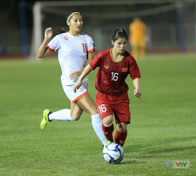 ẢNH: ĐT nữ Việt Nam thi đấu kiên cường, thắng thuyết phục ĐT nữ Phillipines để tiến vào chung kết SEA Games 30 - Ảnh 1.