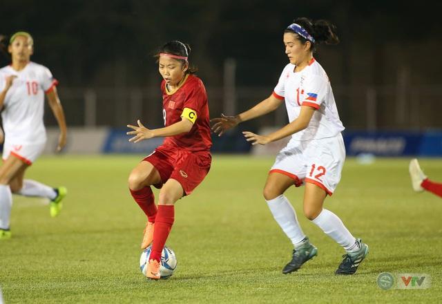 ẢNH: ĐT nữ Việt Nam thi đấu kiên cường, thắng thuyết phục ĐT nữ Phillipines để tiến vào chung kết SEA Games 30 - Ảnh 5.