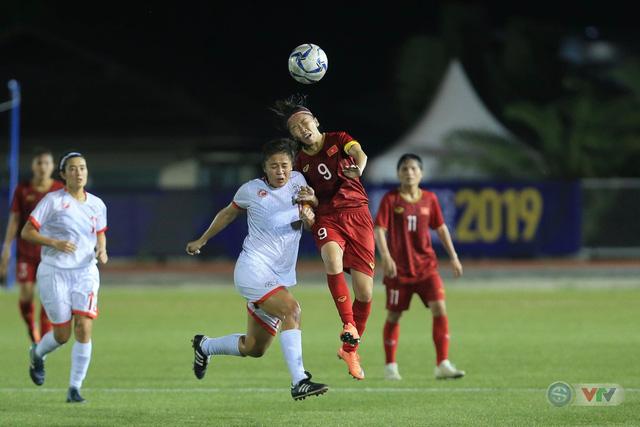 ẢNH: ĐT nữ Việt Nam thi đấu kiên cường, thắng thuyết phục ĐT nữ Phillipines để tiến vào chung kết SEA Games 30 - Ảnh 8.