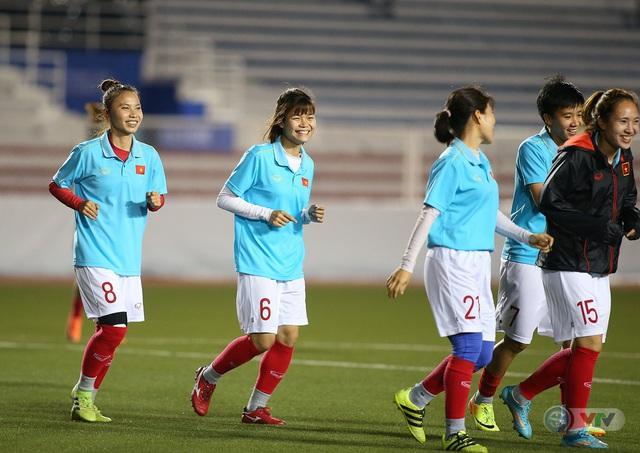 ẢNH: ĐT nữ Việt Nam rèn quân, quyết thắng Thái Lan trận chung kết SEA Games 30 - Ảnh 9.