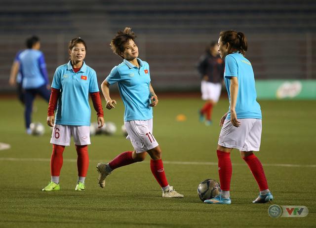 ẢNH: ĐT nữ Việt Nam rèn quân, quyết thắng Thái Lan trận chung kết SEA Games 30 - Ảnh 4.
