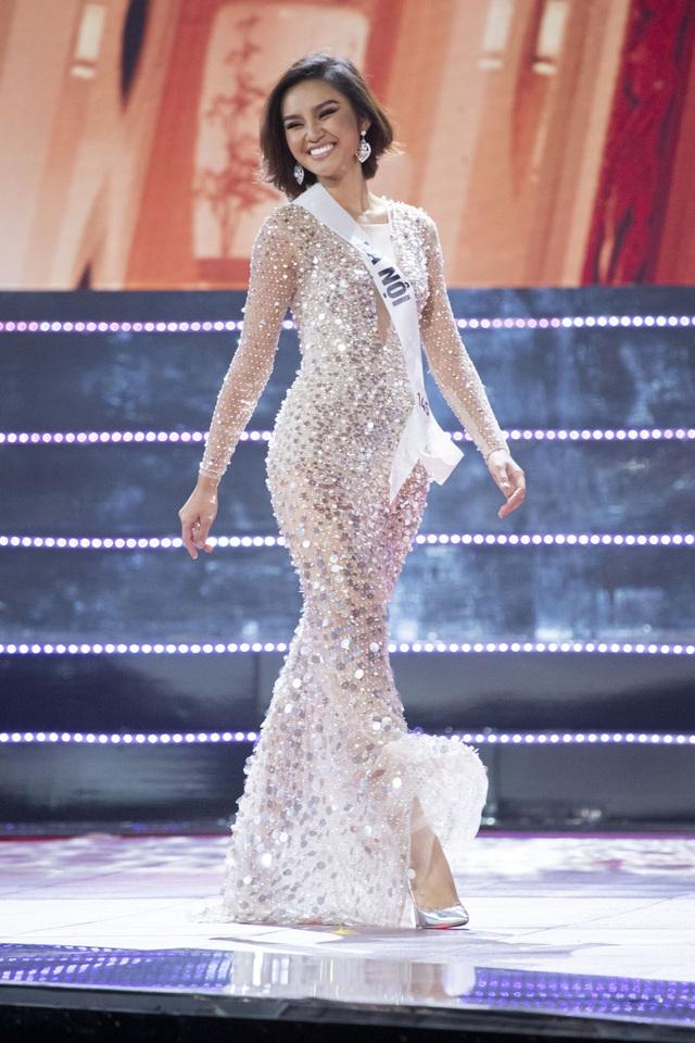 Top 10 Hoa hậu Hoàn vũ Việt Nam khoe sắc với trang phục dạ hội - Ảnh 8.