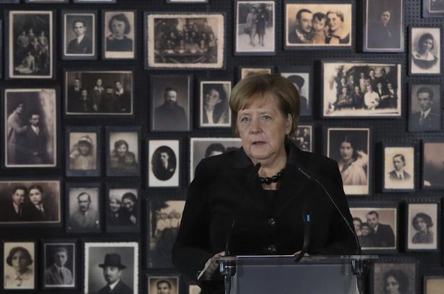 Thủ tướng Đức lần đầu thăm trại tập trung ở Ba Lan - Ảnh 3.