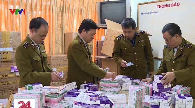 Phát hiện lô thuốc tân dược nhập lậu trị giá gần 2 tỷ đồng, cất giấu ở chung cư Hà Nội - Ảnh 1.