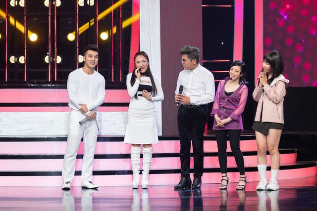 Nhật Thủy cân 3 giọng hát nhóm H.A.T  khi song ca cùng Ưng Hoàng Phúc - Ảnh 3.