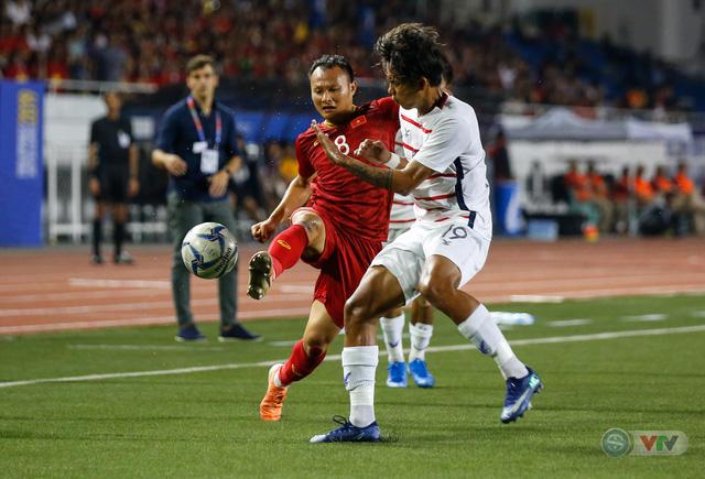 ẢNH: Những khoảnh khắc ấn tượng trong chiến thắng của U22 Việt Nam trước U22 Campuchia - Ảnh 6.