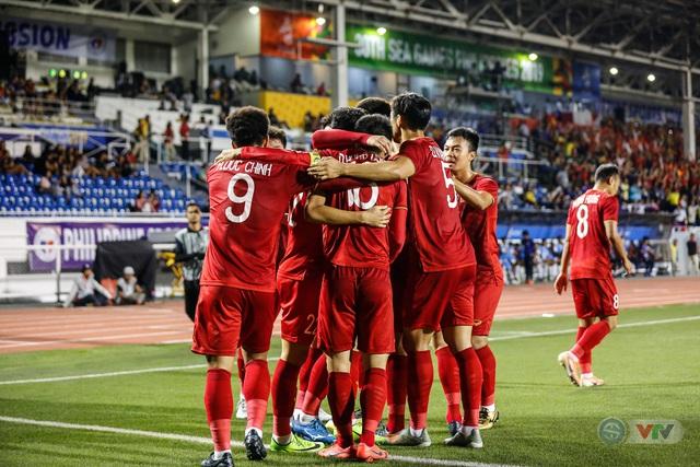 ẢNH: Những khoảnh khắc ấn tượng trong chiến thắng của U22 Việt Nam trước U22 Campuchia - Ảnh 9.