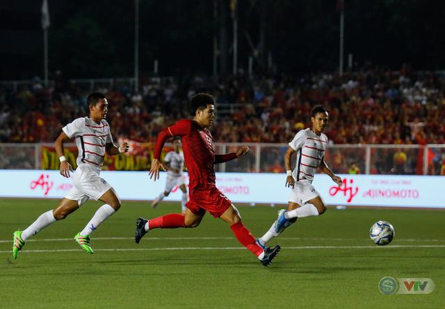 ẢNH: Những khoảnh khắc ấn tượng trong chiến thắng của U22 Việt Nam trước U22 Campuchia - Ảnh 10.