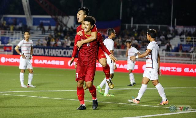 ẢNH: Những khoảnh khắc ấn tượng trong chiến thắng của U22 Việt Nam trước U22 Campuchia - Ảnh 13.