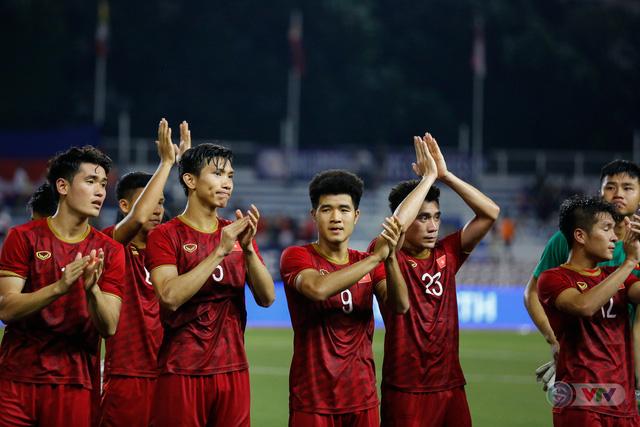 ẢNH: Những khoảnh khắc ấn tượng trong chiến thắng của U22 Việt Nam trước U22 Campuchia - Ảnh 19.
