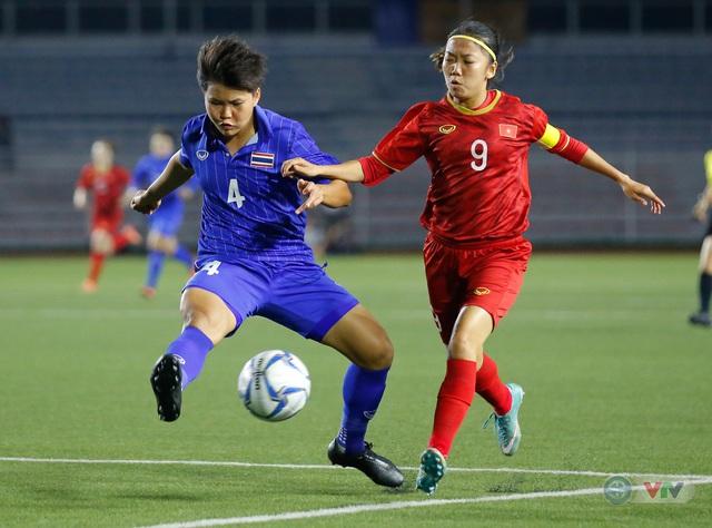 ẢNH: ĐT nữ Việt Nam thắng kịch tính trước Thái Lan, giành HCV bóng đá nữ SEA Games 30 - Ảnh 3.