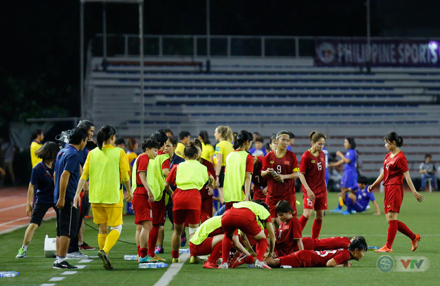 ẢNH: ĐT nữ Việt Nam thắng kịch tính trước Thái Lan, giành HCV bóng đá nữ SEA Games 30 - Ảnh 14.