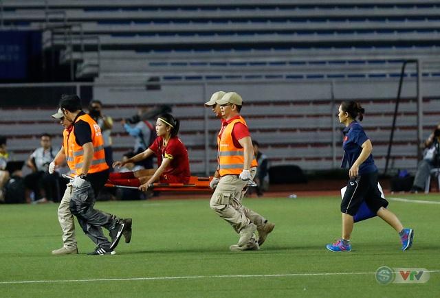 ẢNH: ĐT nữ Việt Nam thắng kịch tính trước Thái Lan, giành HCV bóng đá nữ SEA Games 30 - Ảnh 12.