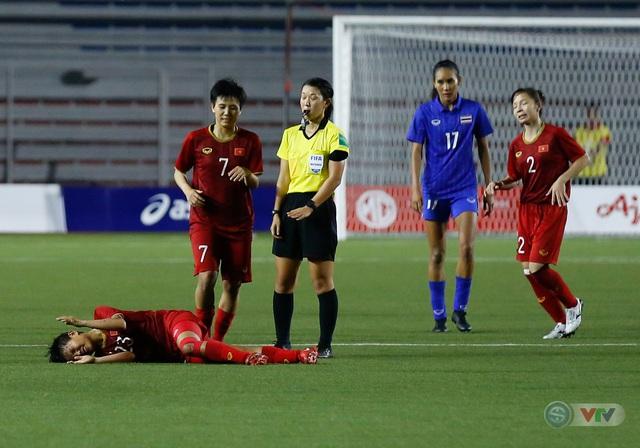 ẢNH: ĐT nữ Việt Nam thắng kịch tính trước Thái Lan, giành HCV bóng đá nữ SEA Games 30 - Ảnh 11.