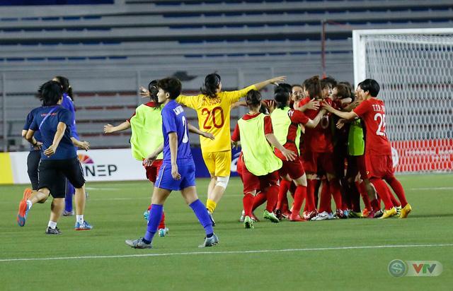 ẢNH: ĐT nữ Việt Nam thắng kịch tính trước Thái Lan, giành HCV bóng đá nữ SEA Games 30 - Ảnh 19.