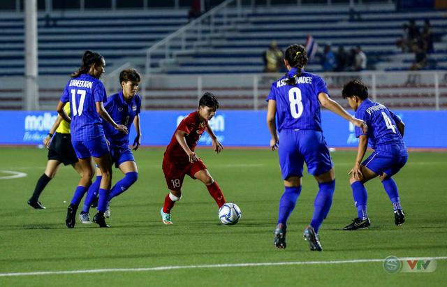ẢNH: ĐT nữ Việt Nam thắng kịch tính trước Thái Lan, giành HCV bóng đá nữ SEA Games 30 - Ảnh 10.