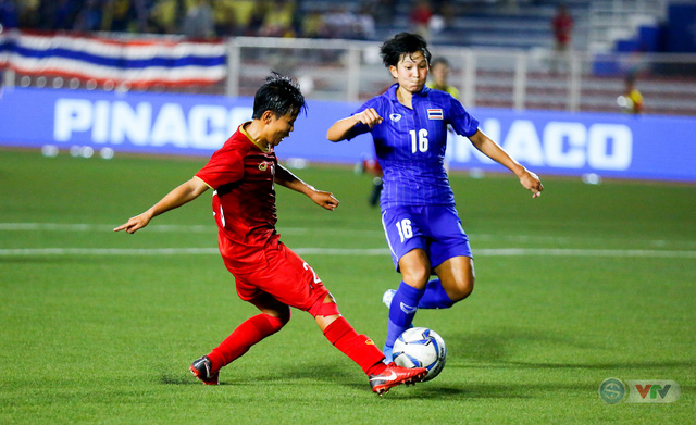 ẢNH: ĐT nữ Việt Nam thắng kịch tính trước Thái Lan, giành HCV bóng đá nữ SEA Games 30 - Ảnh 9.