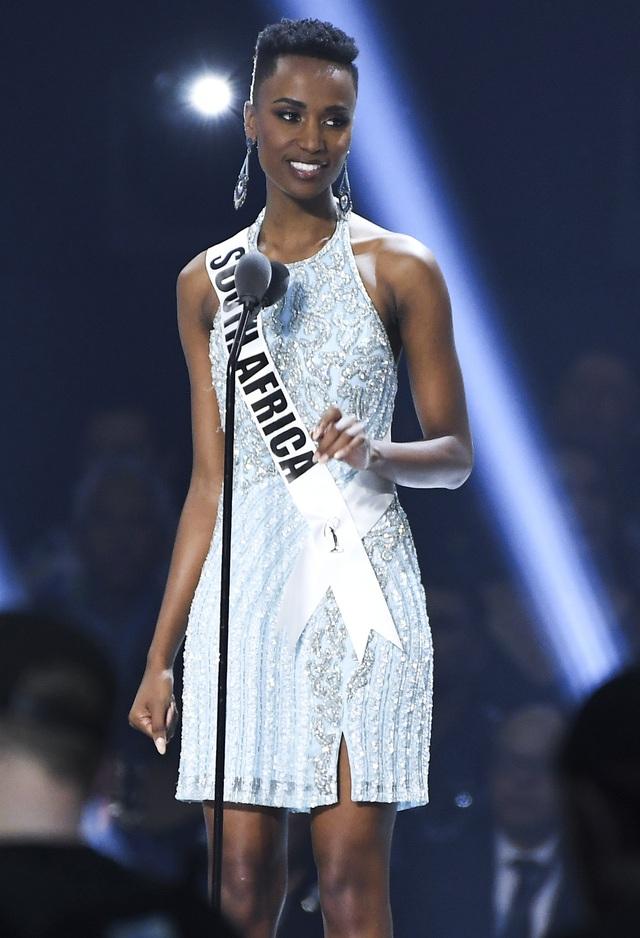 Người đẹp Nam Phi đăng quang Hoa hậu Hoàn vũ 2019 - Ảnh 4.