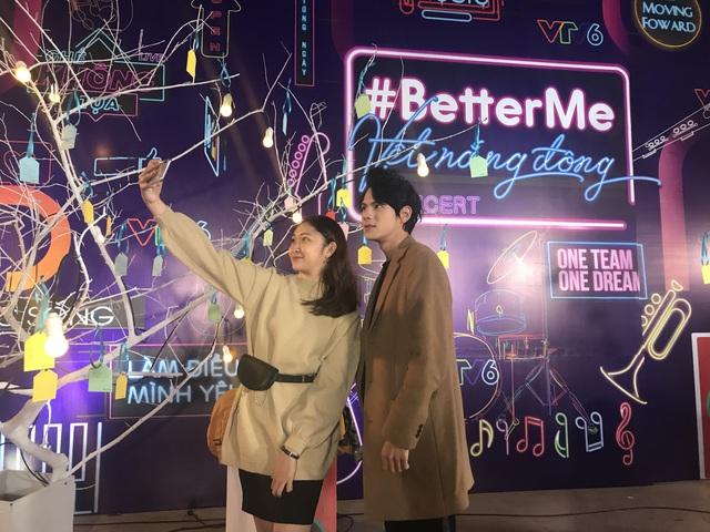 Bùng nổ đêm đại nhạc hội Vệt nắng đông với thông điệp BetterMe - Một tôi tốt hơn của VTV6 - Ảnh 10.
