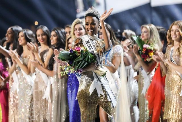 Người đẹp Nam Phi đăng quang Hoa hậu Hoàn vũ 2019 - Ảnh 1.