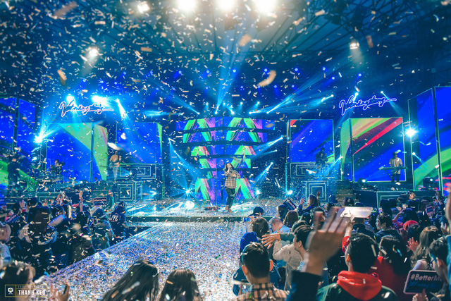 Bùng nổ đêm đại nhạc hội Vệt nắng đông với thông điệp BetterMe - Một tôi tốt hơn của VTV6 - Ảnh 18.