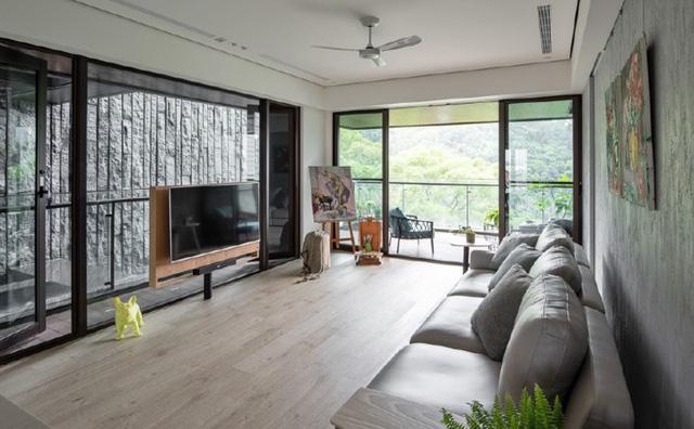 Ngôi nhà mang phong cách mở có 3 thế hệ sống chung - Ảnh 4.