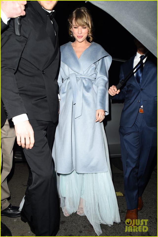 Taylor Swift bất ngờ xuất hiện cùng bạn trai tại lễ trao giải BAFTA 2019 - Ảnh 3.